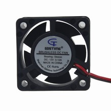 20PCS Gdstime DC 12V 2Pin 4020 40mm 4cm 40x40x20mm Mini Micro Heatsink Cooling Cooler Fan(China)