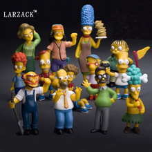 movie&TV De simpsons homer Simpson actiefiguur pop 1/8 painted marge, Bart, Lisa, Maggie simpson pvc acgn figuur speelgo(China)