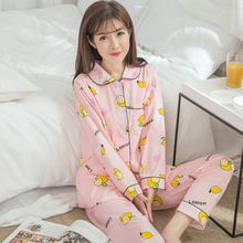 Cotton Maternity Sleepwear M-XXXL Breastfeeding Pajamas Sets Nursing Clothes for Pregnant Women Long Sleeve Spring Autumn Style(China)
