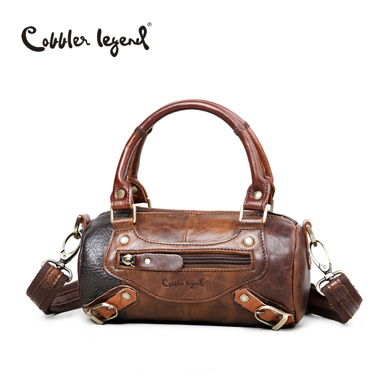 Cobbler Legend Famous Designer Brand Womens Handbags Genuine Leather Vintage Woman Luxury Cowhide Shoulder Messenger Bag 602081<br>