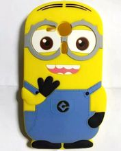 For Sony Xperia SP Case 3D Yellow Minions Despicable Me Soft Silicon Rubber Case Back Cover For Sony Xperia SP M35H C5302 C5303(China)