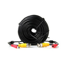 20M CCTV Video Power BNC Cable DVR Wire Cord + DC plug Power extension cable for CCTV Camera and DVRs coaxial Cable(China)