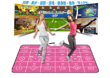 HOT 2016 NEW PC English menu 11 mm thickness double dance pad yoga mat Non-Slip Pad for PC & TV FREE SHIPPING(China)