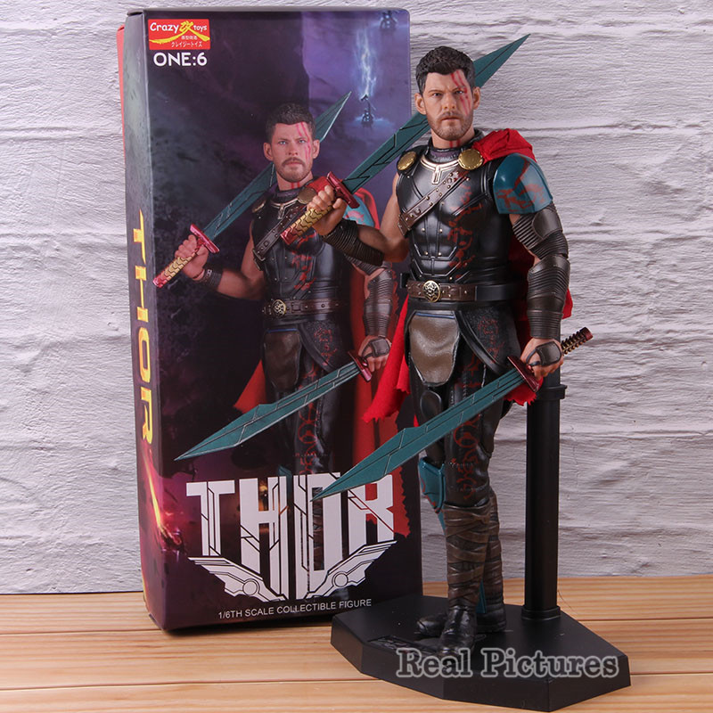 Captain Action Marvel  Thor  1//6 Scale Figure Uniform New In Box