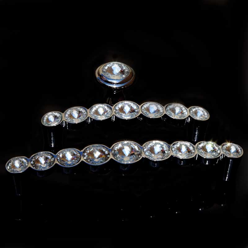 modern fashion deluxe rhinestone dresser door handles knobs silver chrome k9 crystal drawer win cabinet knobs pulls 5 3.75<br><br>Aliexpress