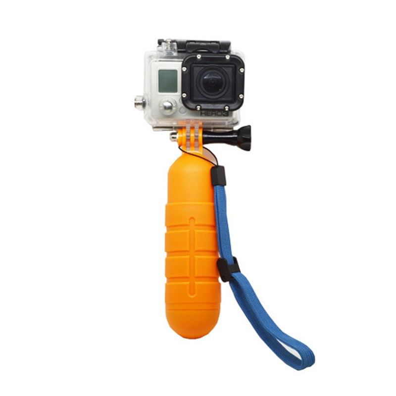 Go pro Accessories Floating Hand Grip Floaty Bobber GoPro Hero 5 4 3+ 3 SJCAM SJ4000 SJ5000 Xiaomi Yi Handheld Stick Monopod