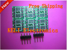 new 10PCS/LOT MSOP / SOIC / TSSOP SOP8 turn DIP8 IC adapter Socket / Adapter plate / PCB PB-FREE 100%New Original(China)