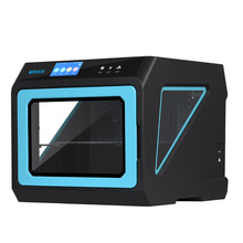 New Upgrated Closed Metal 3d Printer A7 with Multicolor Touch-screen, Removable Heated bead 3d Printing Machine(China)