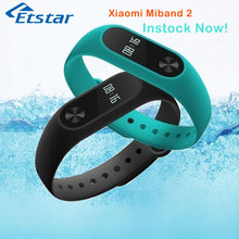 Original Xiaomi Mi Band 2 miband Bluetooth 4.0 fitness tracker heart rate monitor Oled display touchpad smartband IOS Android