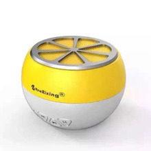 Fashion mini Orange Lemon Bluetooth speaker portable Colorful Radio FM TF AUX enceinte bluetooth portable puissant handfree call(China)