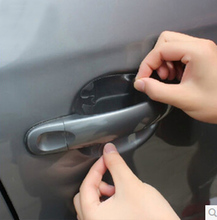 4pcs/lot Car Handle Protection Film Universal Invisible Car Door Handle Stickers Scratches Resistant Sticker