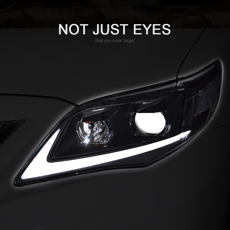 CNSUNNYLIGHT For Toyota Corolla 2011 2012 2013 Car Headlights Assembly With LED DRL Turn Signal Lights Plug & Play Head Lights (5)