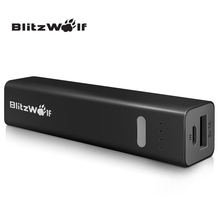 BlitzWolf Original BW-P2 Universal 3350mAh Mini Portable Power Bank For Samsung For iPhone For Xiaomi Charge Powerbank