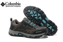 2016 Columbia Redmond Men High Hiking Shoes,Waterproof Hiking ShoeS,Comfortable Breathable Genuine Leather sports Shoes