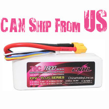 CNHL G+PLUS LI-PO 1800mAh 14.8V 70C(Max 140C) 4S Lipo Battery Pack for RC Hobby with free shipping(China)