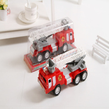 The new toy fire truck with a ladder large inertia can be rotated 360 degrees car factory direct brinquedo menino