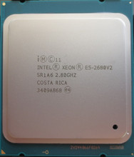 Intel Xeon Processor E5 2680 V2 CPU E52680 v2 2.8 LGA 2011 SR1A6 Ten Cores Server processor e5-2680 V2 E5-2680V2(China)