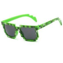 3 couleur Treillis De Mode Mosaïque lunettes de Soleil Minecraft cos jouer  Jeu d action 0e7129991f83