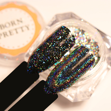 BORN PRETTY 1 Box 0.2g Galaxy Holo Flakes Bling Laser Nail Sequins Holographic Glitter Powder Paillette