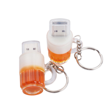 Real capacity Beer Cup pen drive usb flash drives 64GB 32GB 16GB 8GB 4GB 2GB memory usb stick external storage pendrive