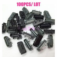 [100PC/ LOT] Wholesale Price For USB Data Port USB Connector Socket Replacement For Xbox 360 Wireless Controller(China)