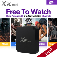 Buy X96 mini IPTV Box Amlogic S905W Android Tv Box SUBTV 1 year Subscription 3500+ IPTV French Sweden Arabic Turkey Albania Channels for $60.53 in AliExpress store