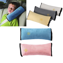 Baby Car Auto Safety Seat Belt Harness Shoulder Pad Cover Children Protection car Covers car Cushion Support car Travel Pillow(China)