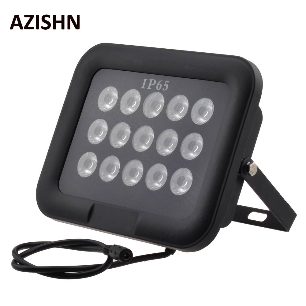 CCTV LEDS 15IR infrared Array illuminator infrared 850nm IP65 metal Waterproof tempered glass Night Vision for cctv came<br>