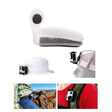 Transparent Travel Quick Clamp Clip Backpack Hat Clip Mount Adapter Mini Tripod for GoPro Hero 2 3 4 5 SJ4000/6000 Sports Camera