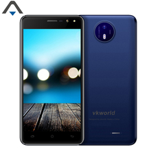 Vkworld F2 mobile phone 5 inch Quad Core 2G RAM 16G ROM 8MP HD Android 6.0 smart phone with Silicone Case and Screen protector