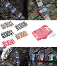 Free Shipping 1pc/lot FMA S-LITE  System Helmet  Safety light  6 color Survival Waterproof  Lamp high&low temperature resistance