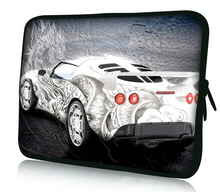 "Cool Car 15"" Laptop Bag Case Cover For 15.6"" HP Pavilion,Dell ,Acer Notebook"