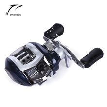 DIAO DE LAI 6.3:1 6 + 1 Ball Bearings High Speed Left Right Hand Bait Casting Fishing Reel Water Drop wheel Fishing Reels(China)