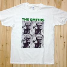 THE SMITHS Rock Music Band Tee T-Shirts Unisex Mens Womens White Short Sleeve SS2