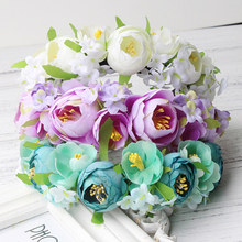green purple turquoise rose Women Head wear Wedding Party hair accessories travel photography Girl Garland hair  Festival Gift