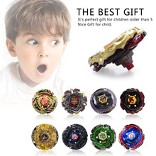 Unisex Kids Alloy 4D Fusion Top Rapid Fighting Rare Beyblade Launcher Top Grip Sets Game High Performance(China)