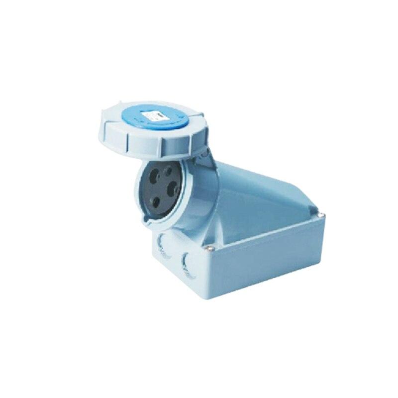 63A 3Pin 220-240V Novel industrial waterproof aviation socket Waterproof grade IP67 SFN-1332<br><br>Aliexpress