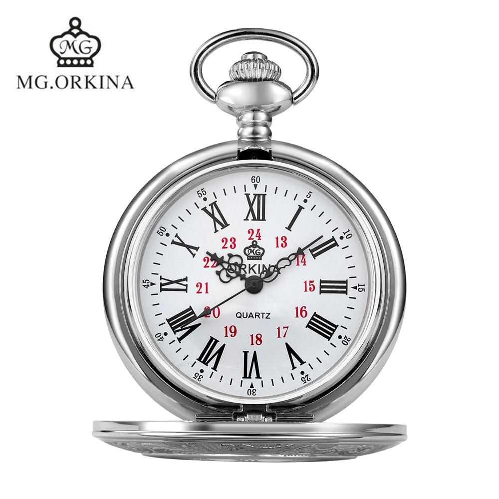 MG.Orkina Classic Steampunk Mens Skeleton Mechanical Bronze Handwind Mechanical Pocket Watch Necklace Gift Free Ship<br><br>Aliexpress
