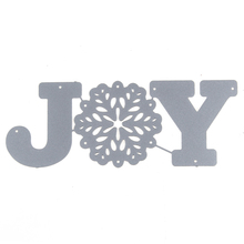 2017 New Metal cutting dies stencil for DIY Scrapbooking Christmas Joy Scrapbook Paper Album Christmas Craft Cutting Dies
