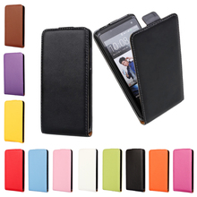 RSHOP Leather Magnetic Vertical Flip Case For HTC Desire C X SV EYE 300 310 500 510 526 600 601 610 816 Up Pouch Cover