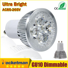 Super Bright GU10 LED Bulb Lamp E27 MR16 15W 12W 9W Spot Light 110V 220V Dimmable Recessed Lighting Downlight Warm Cold White(China)
