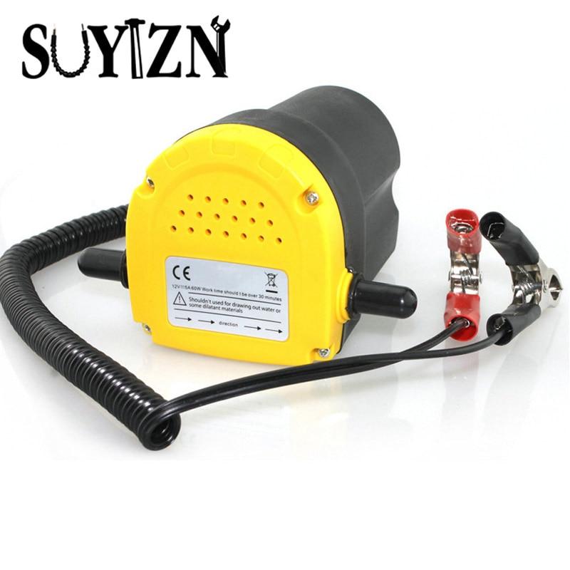 12 Volt Oil/Diesel Fluid Pump for Pumping Fuel Extractor Scavenge Exchange Transfer Pump Car Boat Motorbike Oil Pump HW242<br>