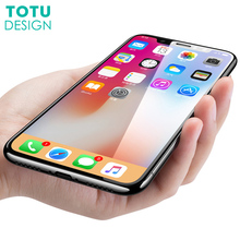 Buy iPhone X 10 Screen Protector Tempered Glass Film TOTU 9H 0.23MM Front Cover Toughened Protective Glass Film iPhone X for $2.99 in AliExpress store
