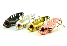 4cm 7g Metal VIB Fishing Lures Bass Spoon Crank Bait Tackle Hooks - Dream store