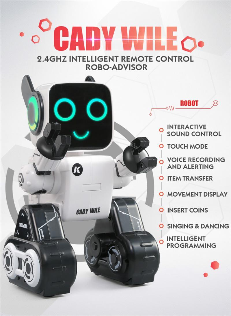 FIFY STORE Robot tirelire intelligent et amusant (Télécommande)