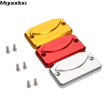 Mgoodoo New Motor Bike Front Brake Fluid Reservoir Cap Oil Cover For Benelli TNT600 TNT300 CNC Aluminum Motorcycle Accessories