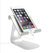Universal Aluminum Laptop Stand Tablet Holder Bracket Cooling Desk Pad for Apple ipad 2 3 4 mini for Sumsung Tab