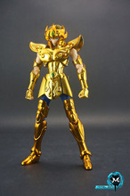 in stock Aioria LEO GOLD OCE Saint Seiya S-temple METAL CLUB model Myth EX Gold Saint Metal Cloth PayPal Payment(China)