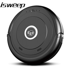 ISWEEP High-Performance Smart Auto Robot Vacuum Cleaner with Dry Big Mopp for Pet Hair Multifunction Household Cleaning