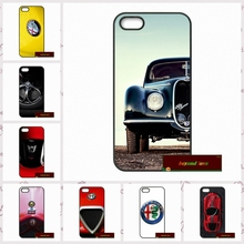 Alfa Romeo Logo Case For iPhone 7 4 4s 5 5s SE 5c 6 6 Plus Mobile Phone Cover     #HE1730